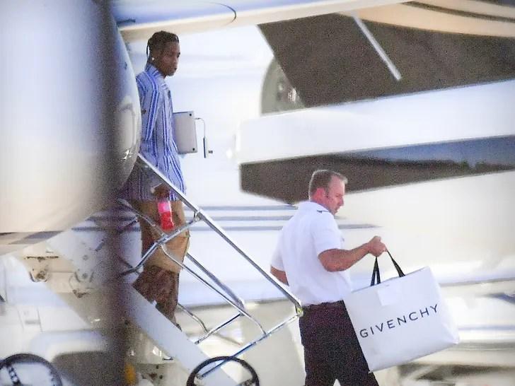 Travis Scott back in LA