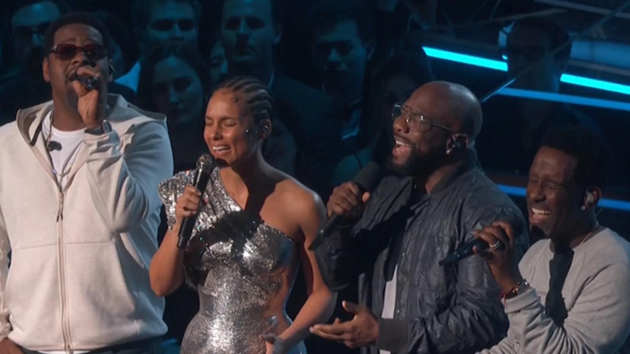 Alicia Keys Opens Grammys with Boyz II Men Tribute for Kobe Bryant