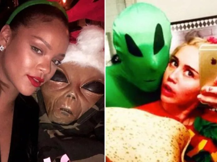Martian Makeovers -- Space Out on Celebr-E.T.s