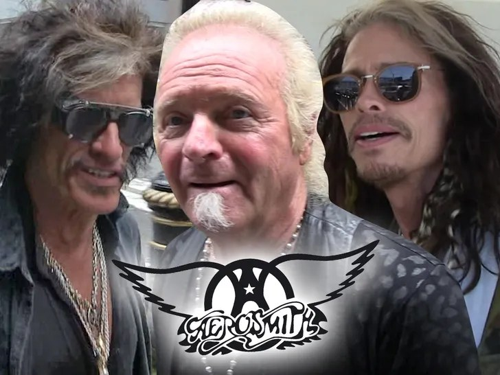Aerosmith's Joey Kramer Plays with the Band in Vegas