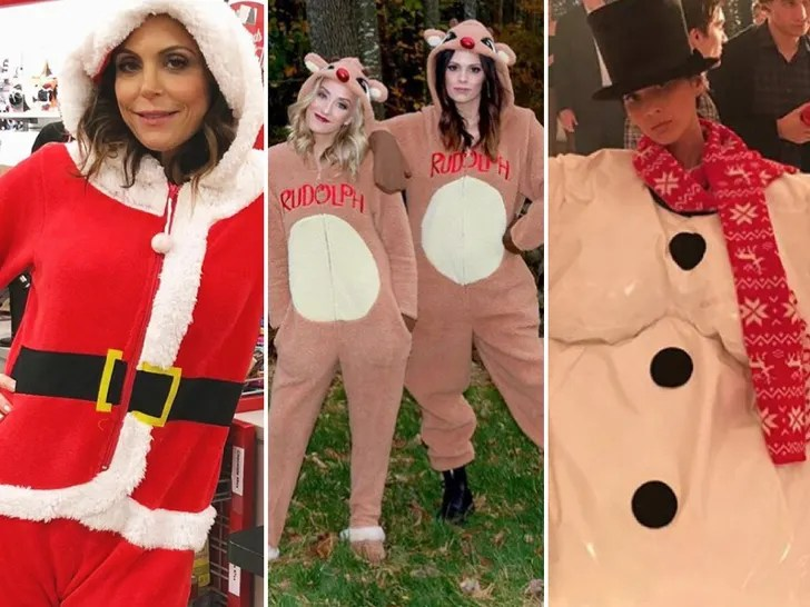 Decked Out Celebs Ready For Christmas
