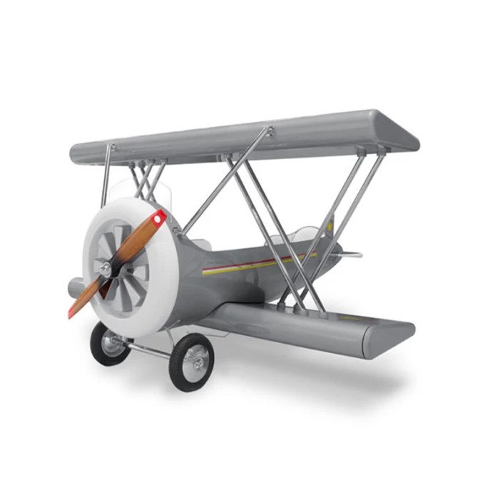 Sky B Plane Bed Grey