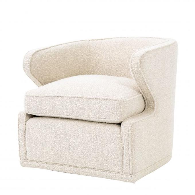 Chair Dorset bouclé cream
