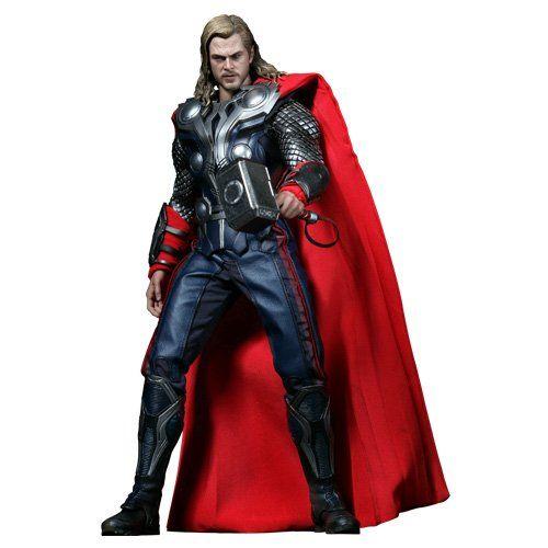 thor figurine articulee de thor 30 cm usagee avengers