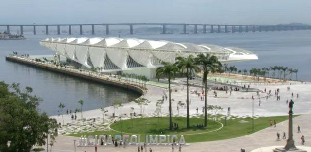 plaza maua y museo del mañana rio de janeiro