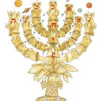 From Parashat T'rumah: The Menorah-As Above, So Below