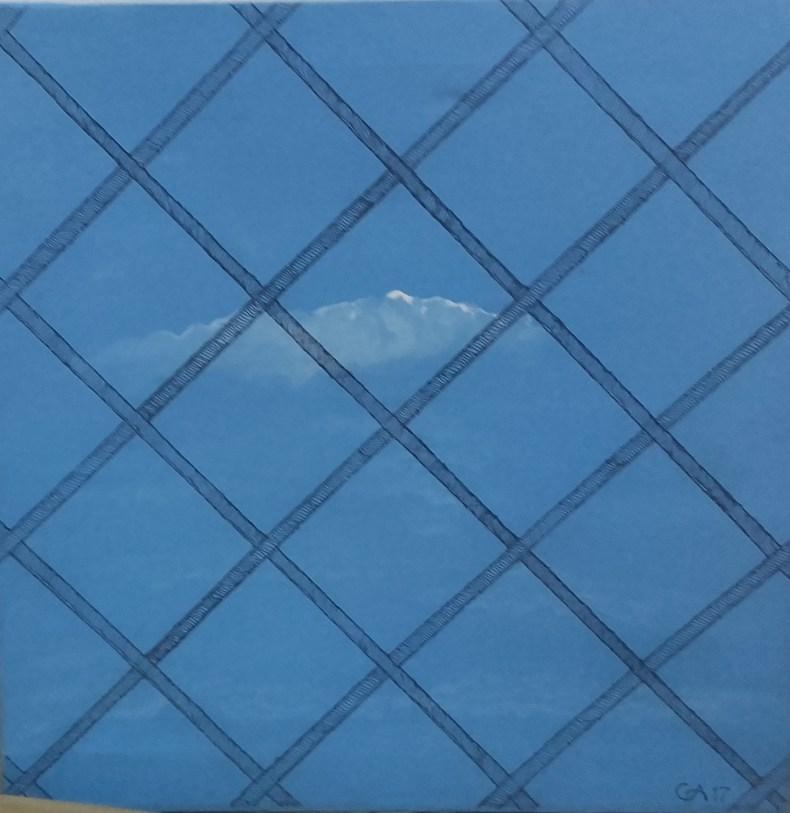 Allende il mar - 50x50cm - Acrílico sobre lienzo