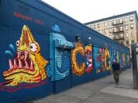 East Village graffiti Alphabet city #01