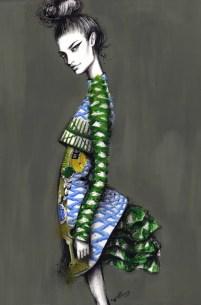 'Mary Katrantzou' by Pippa McManus