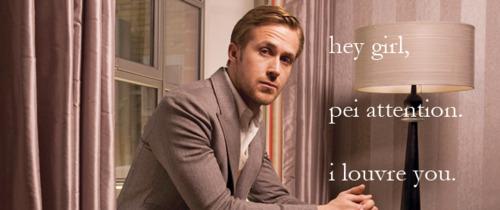 Ryan Gosling at the Soho Hotel in London, Britain - 2011