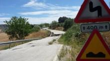 Los daños del temporal de marzo son graves y, según Diputación, obligarán a un nuevo estudio geológico del terreno...