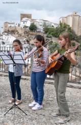 Ana Marín, Cinthia Ramírez y María Sánchez.