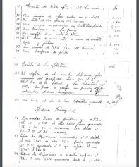 Relación de los daños causados en los templos de Setenil en la destrucción realizada por el párroco Jerónimo Troya, firmado firmado el 20 de agosto de 1939. Pagina 3