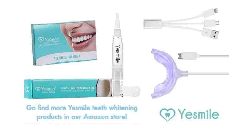 Yesmile Teeth Whitening Strips