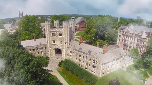 Image of the Princeton Campus from above