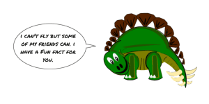Barry-Brunswick-Author-Blog-Fun-Facts-Steg-Dinosaur