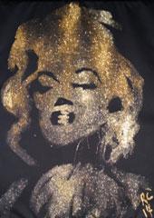 marilyn monroe glitter