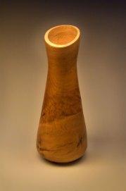 "Oak Burl flower vase 18"" x 7"""