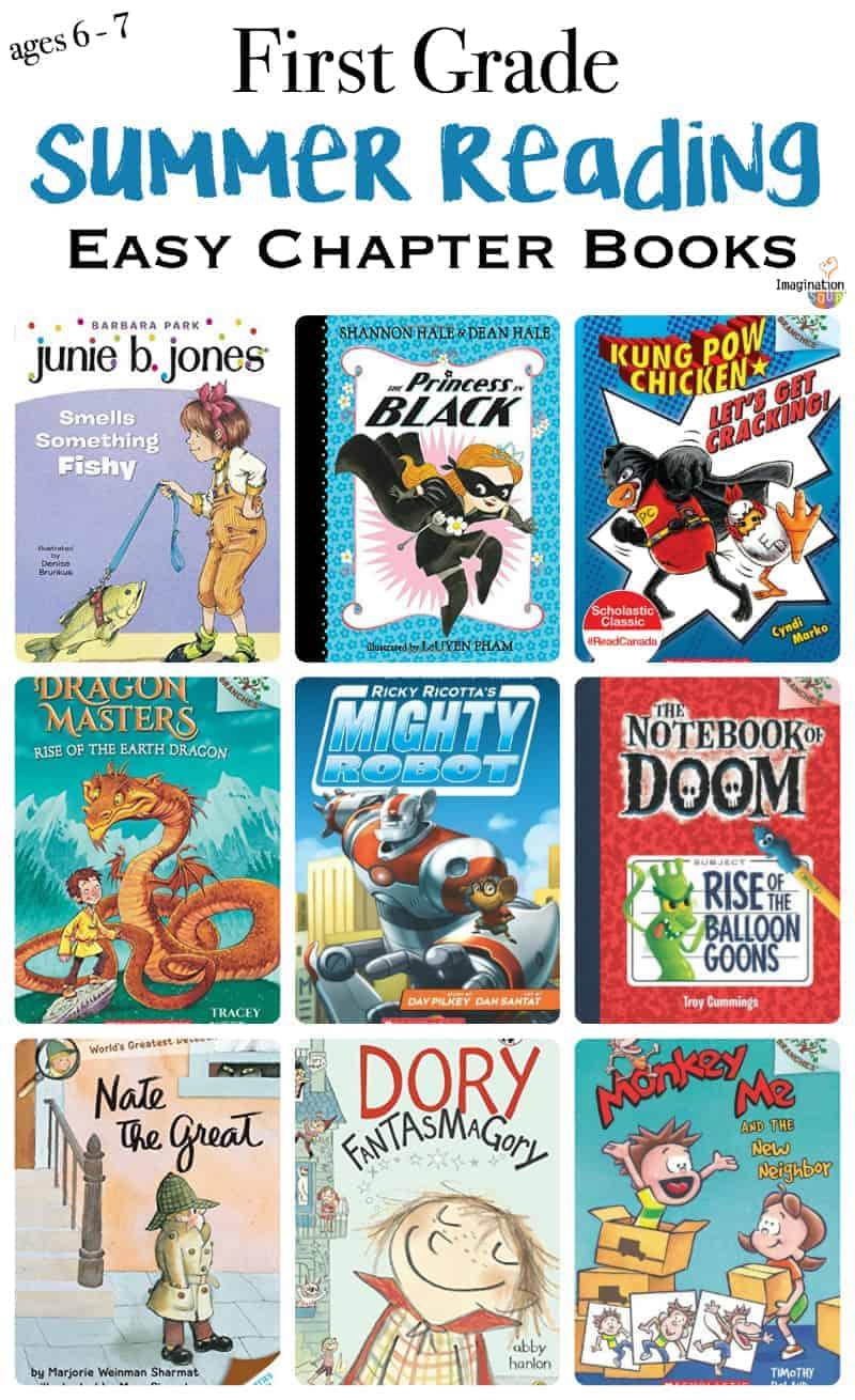 1st Grade Books Summer Reading List Imagination Soup