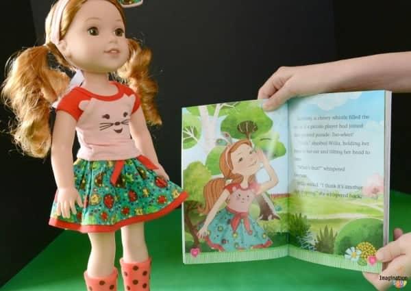 American Girl Doll Wellie Wishers Willa