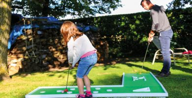 animations mini golf famille