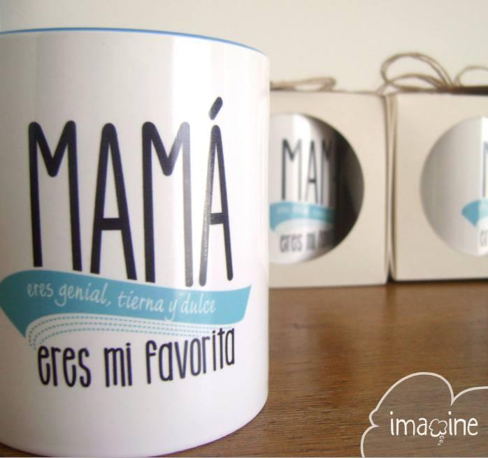 Mamá eres genial, tierna y dulce