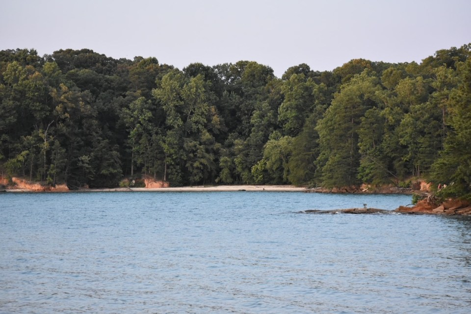 Old Federal Campground Private beach