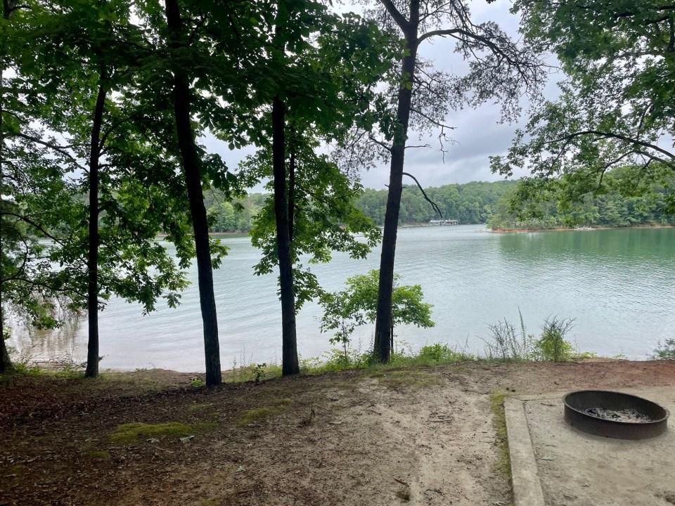 Duckett Mill Campground Site 4