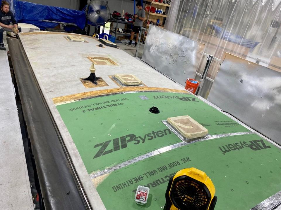 Grand Design Imagine RV Roof Repair FlexArmor