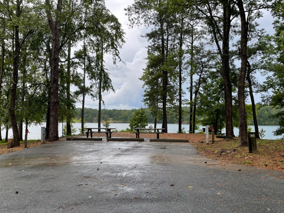 Old Highway 41 Campground buddy sites 49 & 50