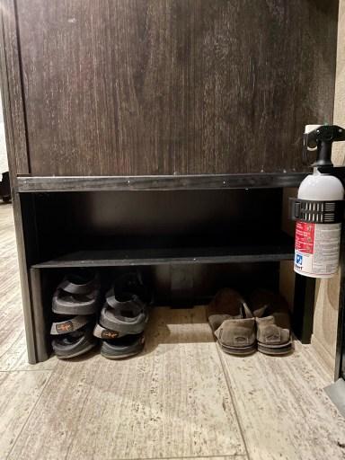 Grand Design Imagine Extra Shoe Storage Modification