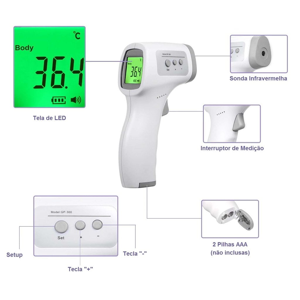 shop Infrared Thermometer GP-300