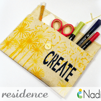 Creative Mini Canvas Tote Bag