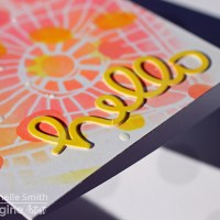 Make an Eye-popping Neon Hello Card for Your Friends
