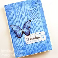 Make a Lapis Blue Butterfly Handmade Card