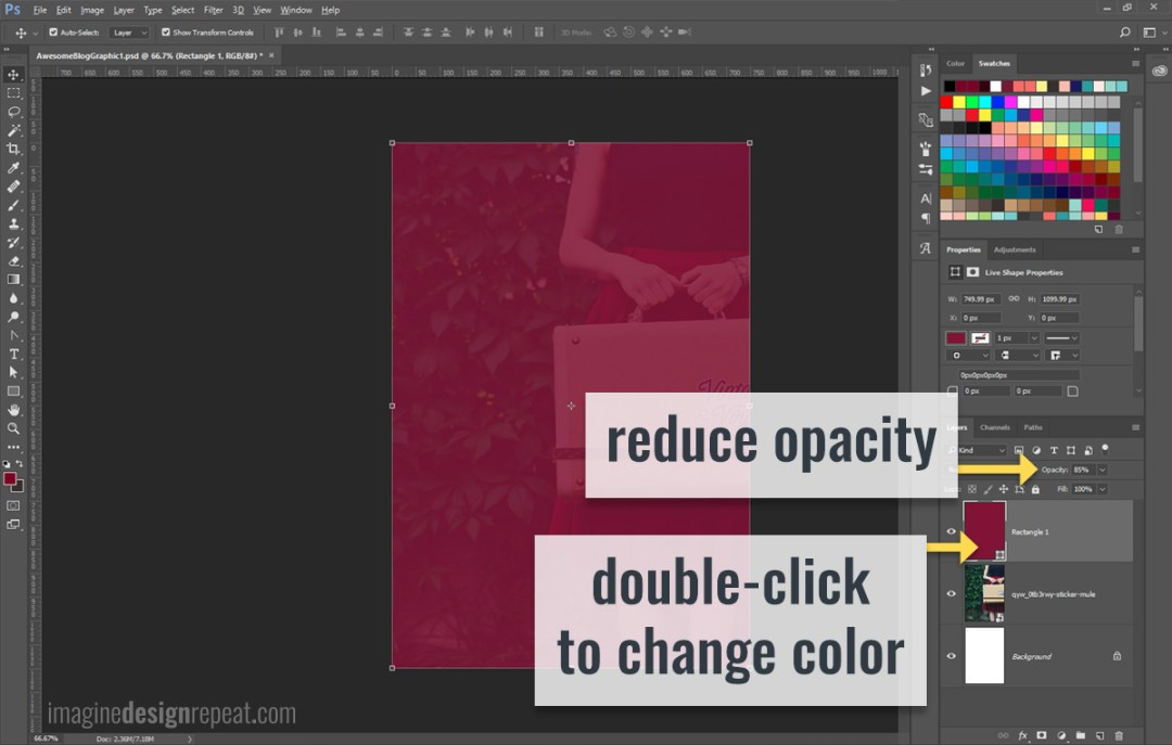 Blog Post Graphic for Pinterest | Imagine Design Repeat