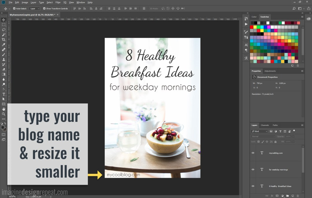 Make Blog Post Graphics | Imagine Design Repeat
