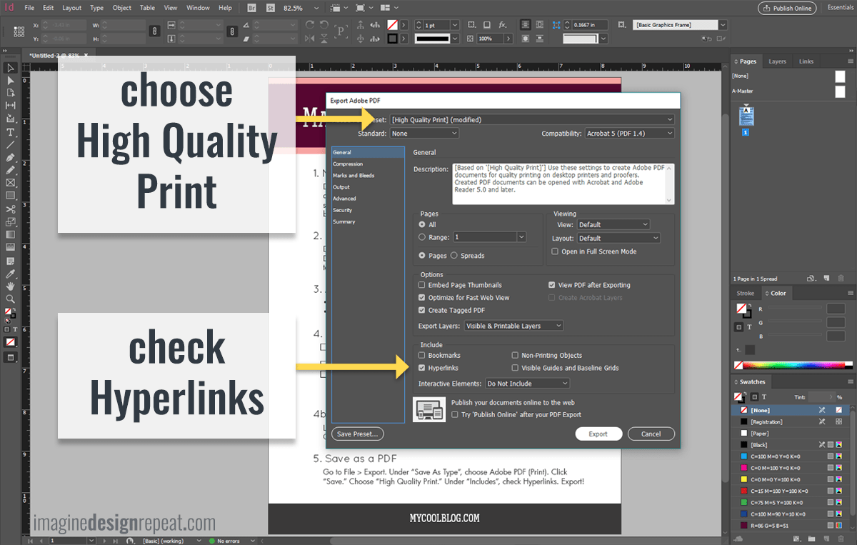 Make an Easy Opt-in Checklist in InDesign from Imagine