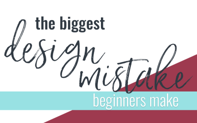 The Biggest Design Mistake Beginners Make