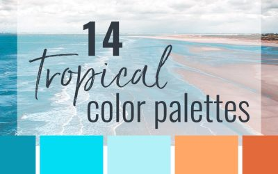14 Tropical Color Palettes to Beat the Heat