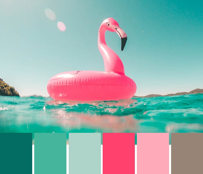 14 Tropical Color Palettes to Beat the Heat • Imagine ...