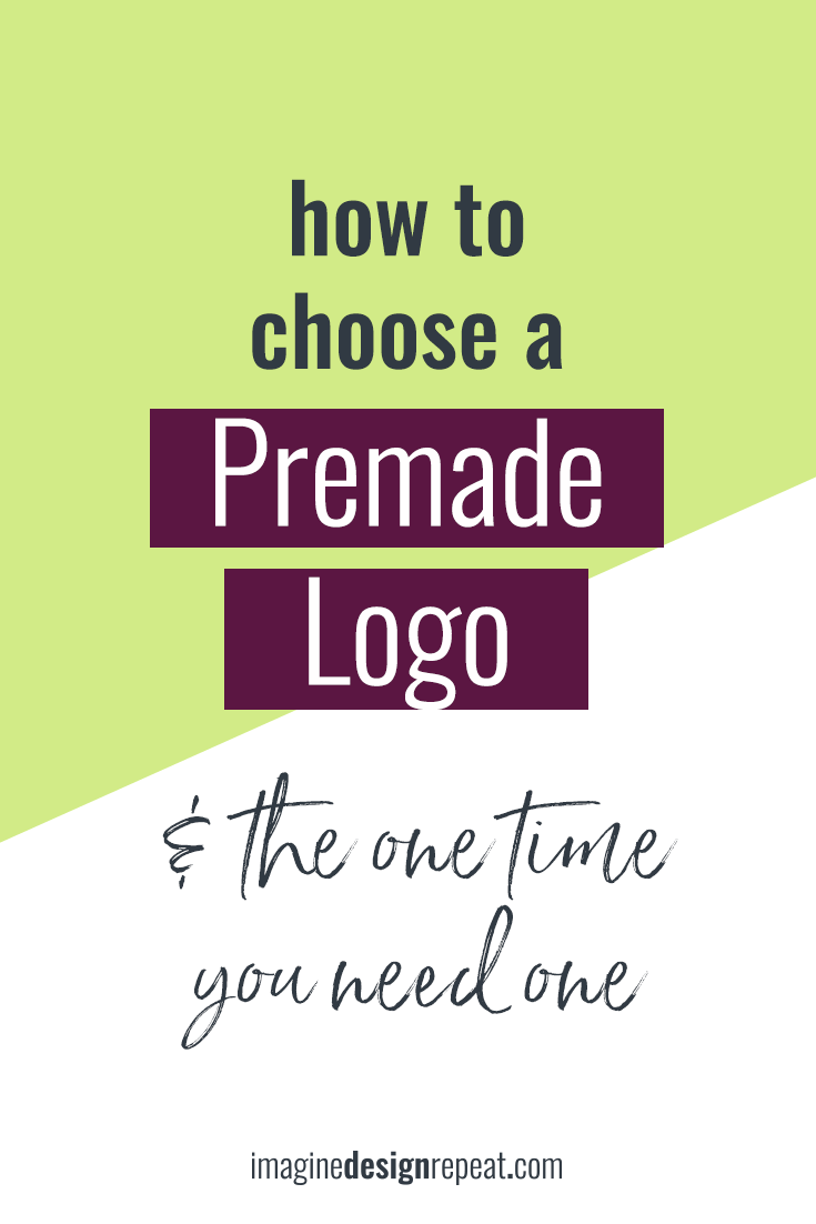 How to Choose a Premade Logo