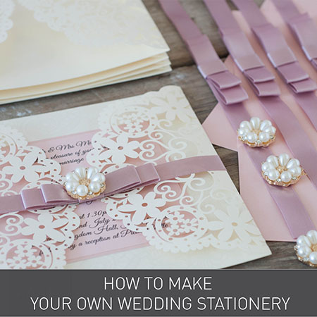 how to make your own wedding invitations