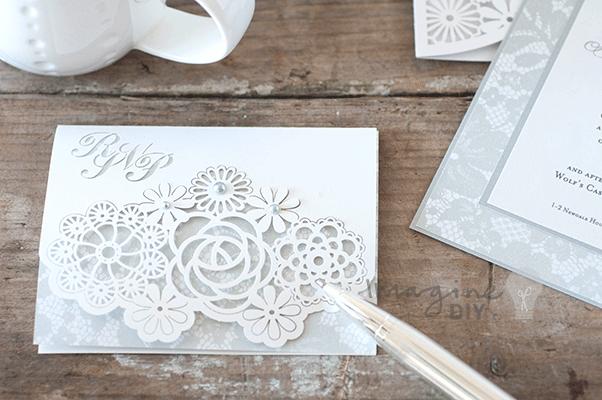 How To Make... Beautiful DIY Rita Laser Cut Wedding