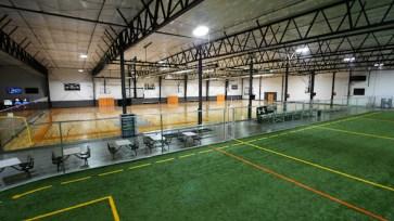 Develop an indoor sports complex.