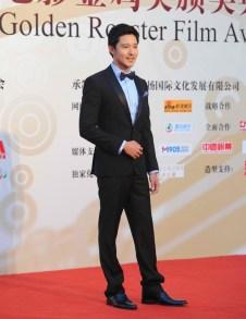 William Li dashing in a black tux