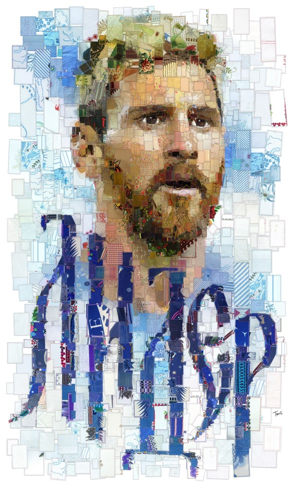 Photomosaic artworks inspired from Russia 2018 by Charis Tsevis