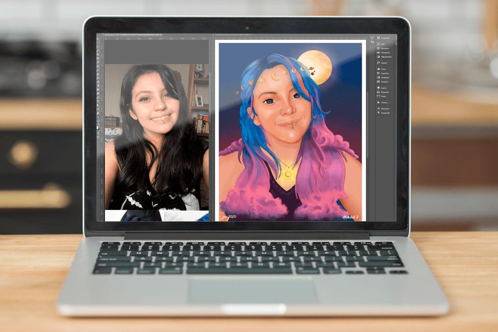 Ilustración Digital Photoshop