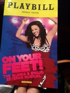 On Your Feet Playbill
