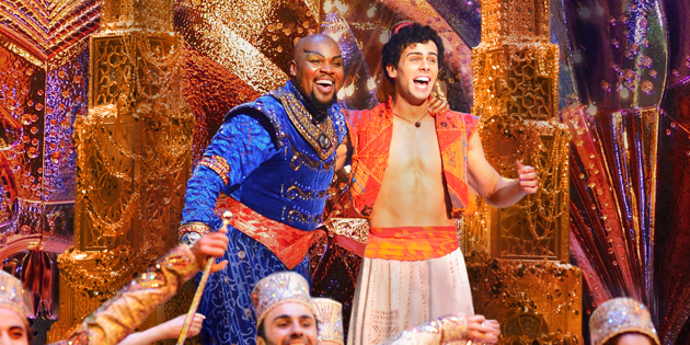 Make Way! Ainsley Melham & Michael James Scott Are the New Stars of Broadway's Aladdin